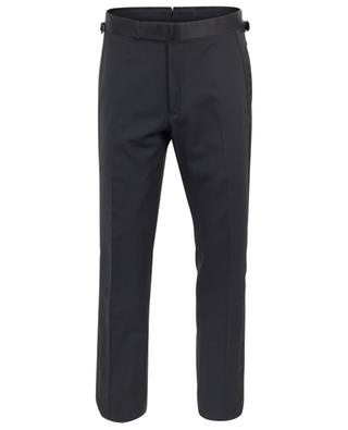 Wool and satin trousers TOM FORD