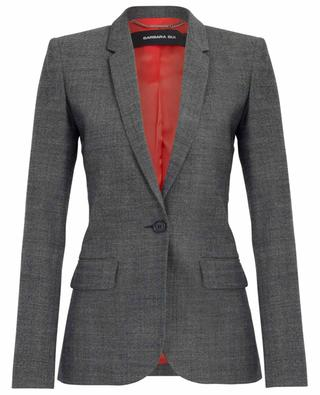 Fitted single breasted wool blazer BARBARA BUI