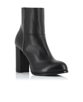 Grained leather ankle boots BONGENIE GRIEDER