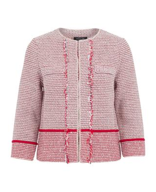 Cotton blend jacket ANNECLAIRE