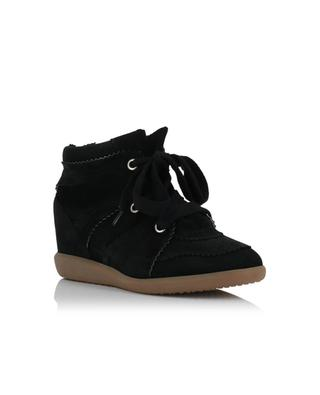 Bobby suede wedge sneakers ISABEL MARANT