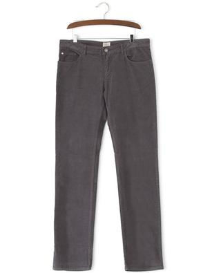 Straight fit corduroy trousers ARMANI
