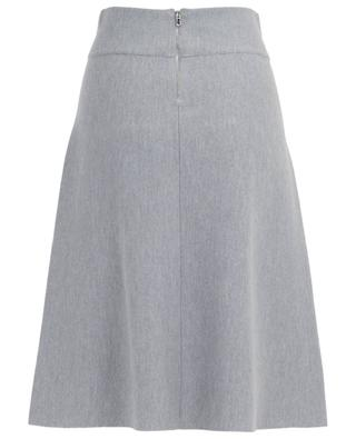 Virgin wool midi skirt WINDSOR