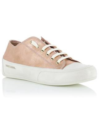 Rock01E metallic leather sneakers CANDICE COOPER