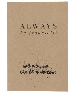 Always be (yourself) note book SISTERS STORIES