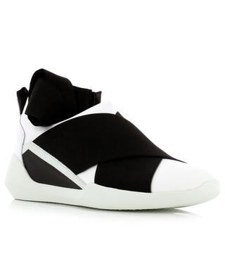 Fabric and leather slip-on sneakers VIC MATIE