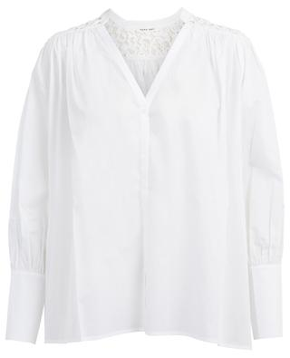 Fumi cotton and lace shirt HANA SAN