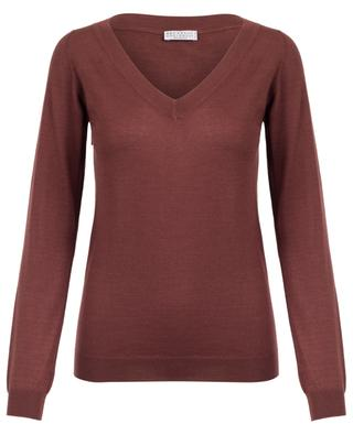Lightweight cashmere and silk jumper BRUNELLO CUCINELLI