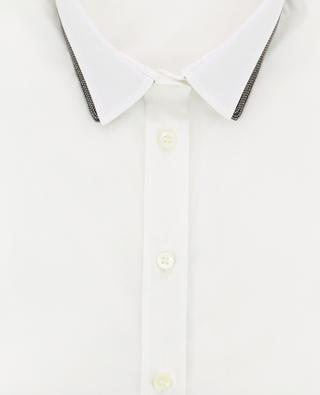 Cotton blend shirt BRUNELLO CUCINELLI